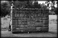 Bergen-Belsen Entrance